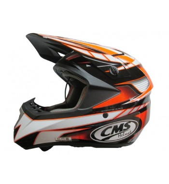 CASCO CMS XR-7 MX NARANJA