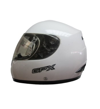 CASCO GPX S300 BLANCO LISO XL